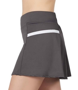POSHDIVAH Women's Athletic Skirts with Built-in Shorts Skorts