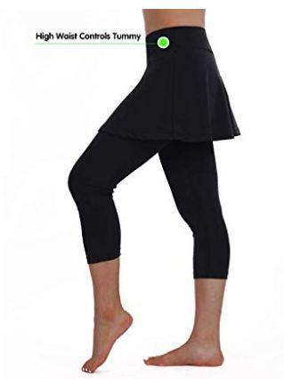 Skirted Legging for Women,Legging with Skorts