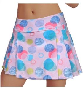 Women's Tennis Skirt Elastic Active Athletic Skort Lightweight Skirt